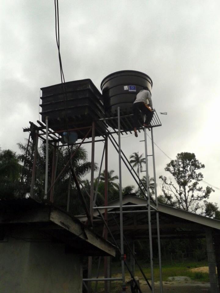 Water Tank in Kelantan