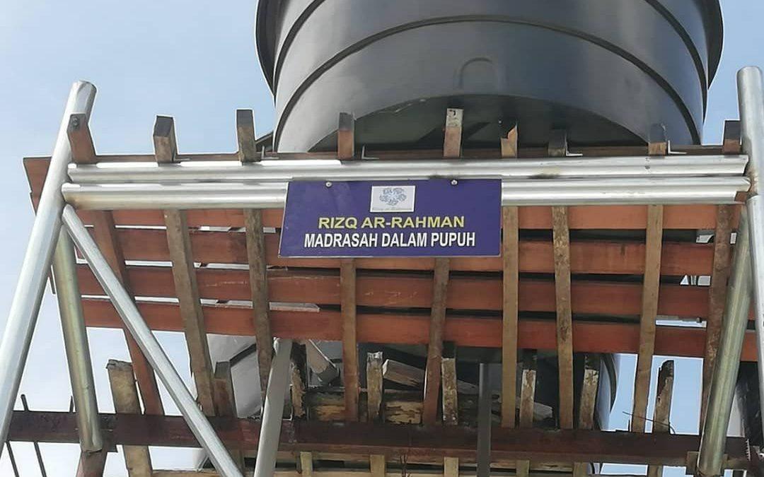 Water Tanks in Kelantan Ramadan 2018