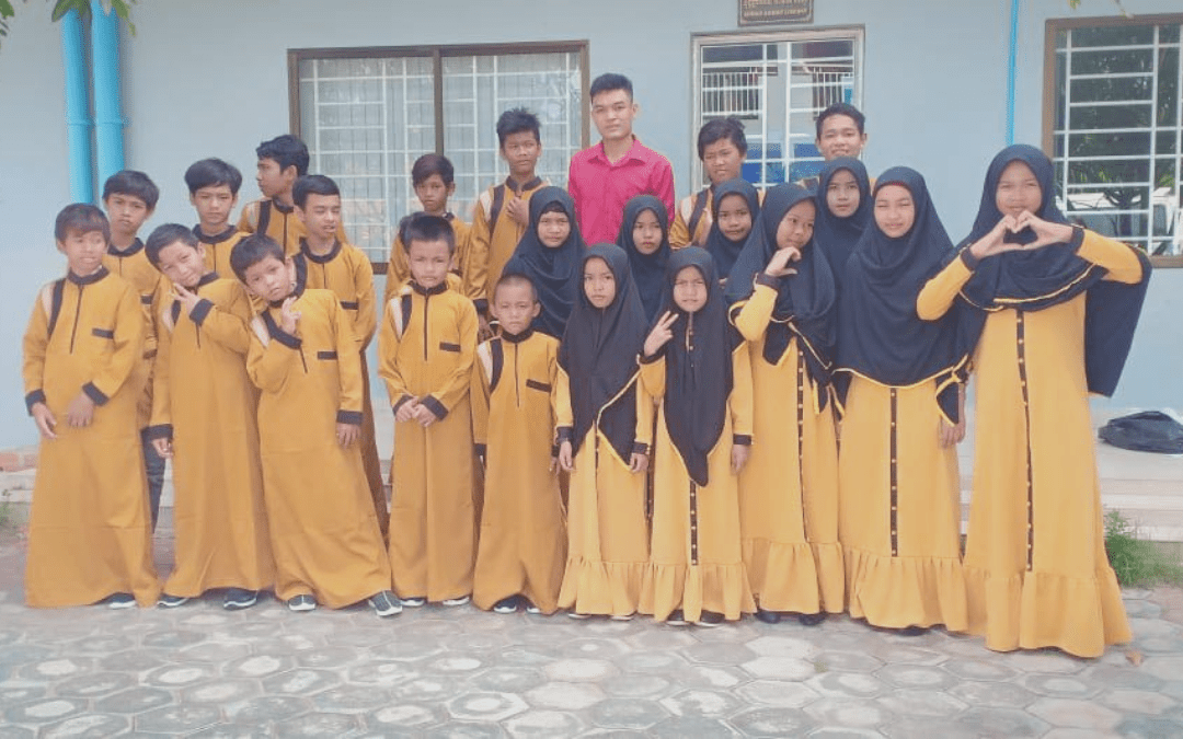 Eid Clothes for Cambodian Orphans