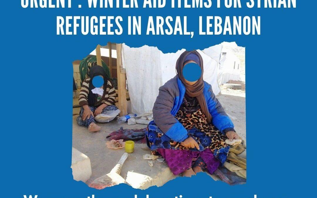 Winter Aid for Arsal, Lebanon