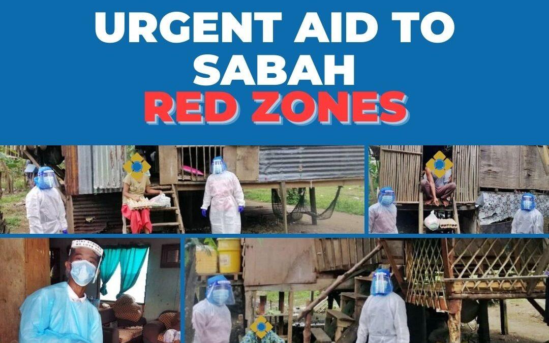 URGENT AID TO SABAH RED ZONES