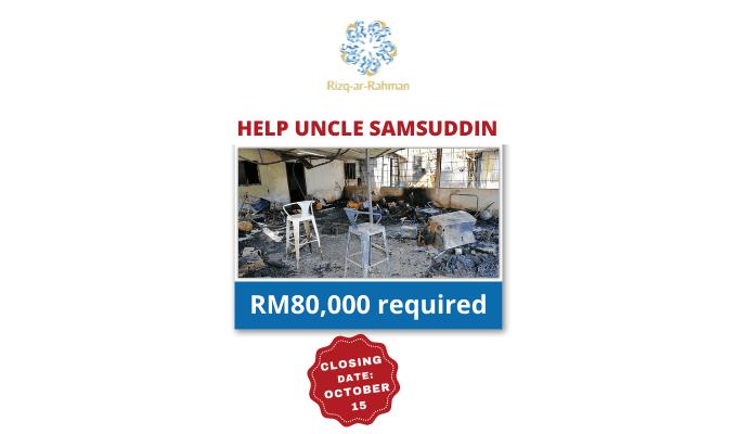 Help Uncle Samsuddin